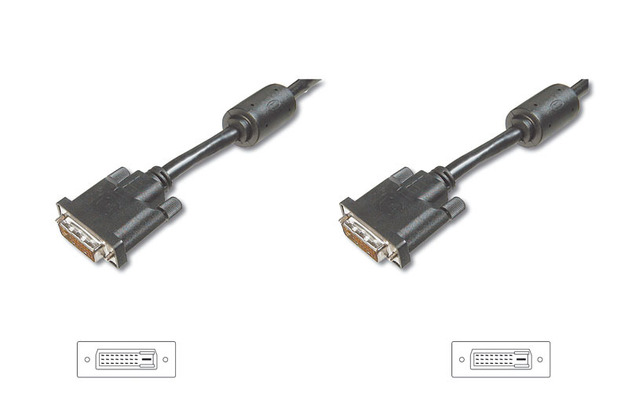10m Digitus DVI-D Male to DVI-D Male Cable