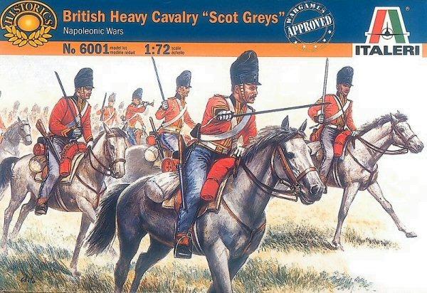 "Italeri British Heavy Cavalry ""Scot Greys"" 1:72 Model Kit"