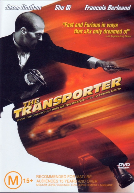The Transporter on DVD