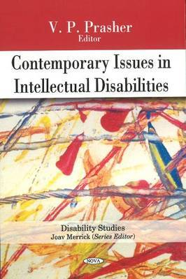 Contemporary Issues in Intellectual Disabilities by V.P. Prasher image