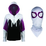 Marvel: Spider-Gwen Women's Hoodie with Mask - Large