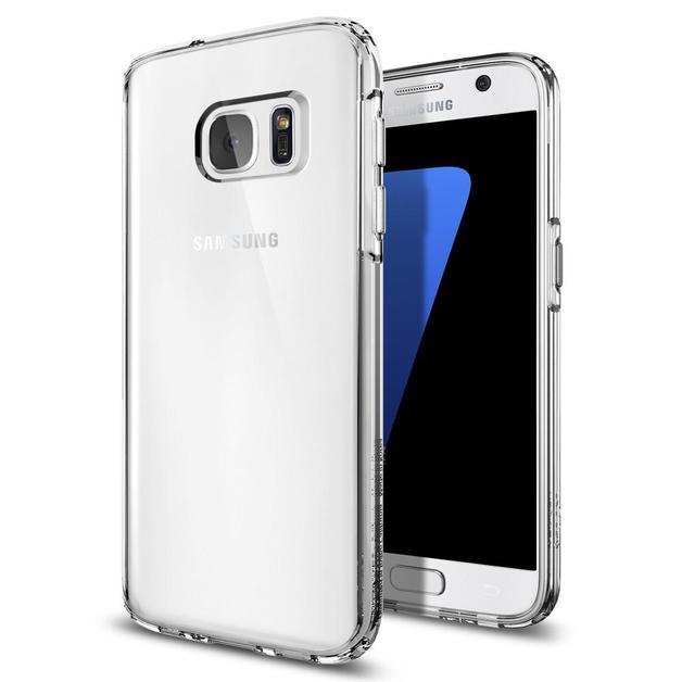 Spigen: Galaxy S7 - Ultra Hybrid Case (Crystal Clear)