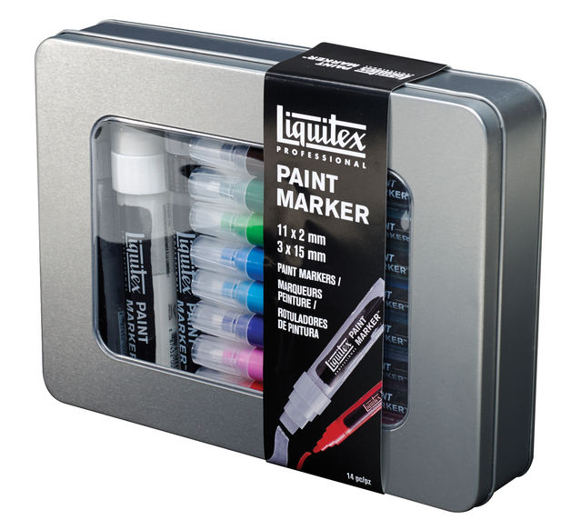 Liquitex: Acrylic Marker 15-Piece Set
