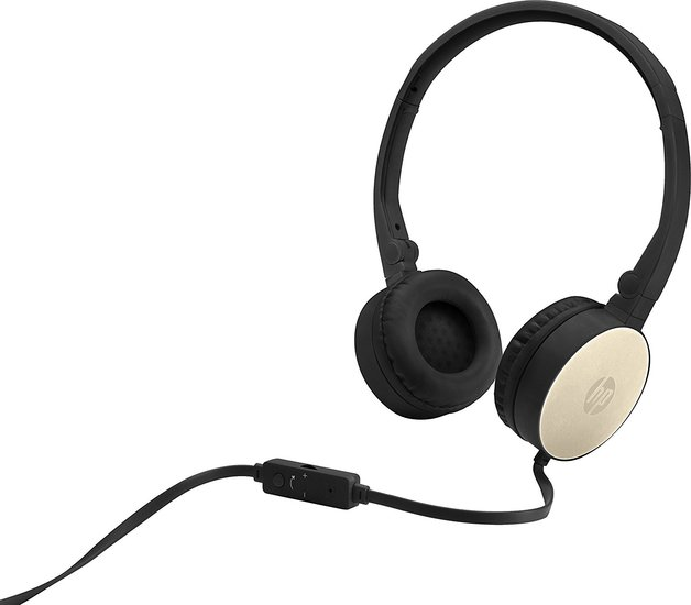 HP H2800 - Stereo Headset (Black/Gold)