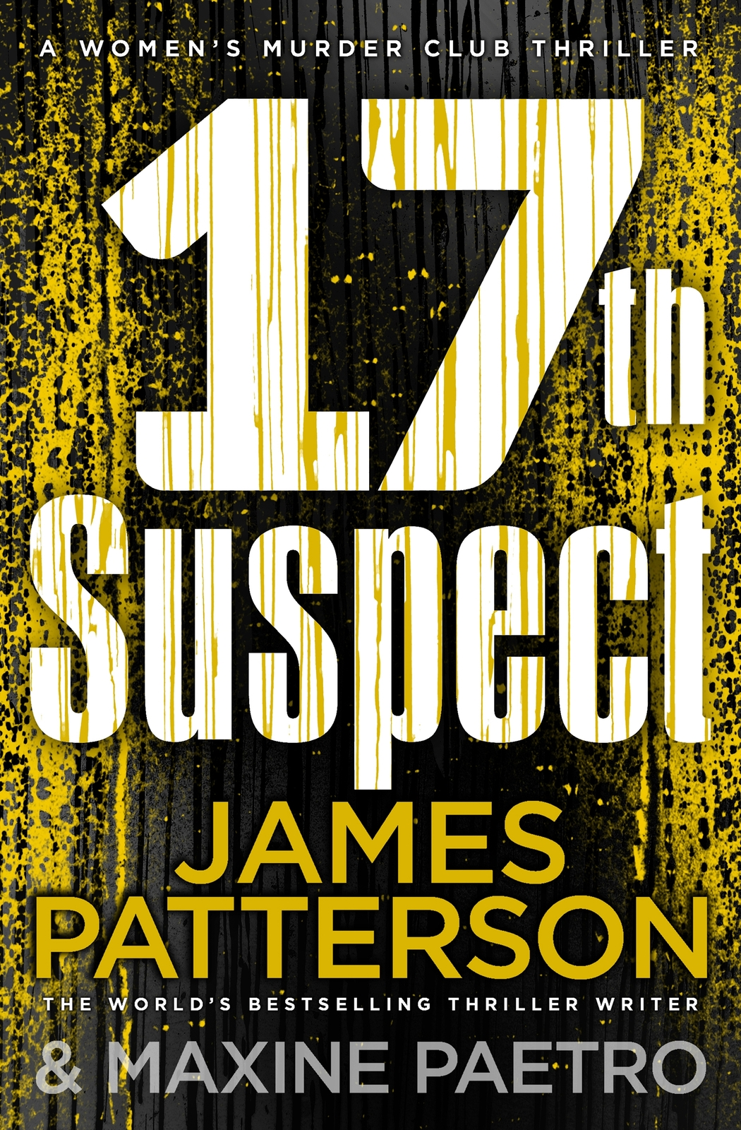 17th Suspect by James Patterson image