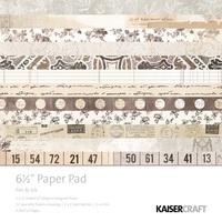 """Kaisercraft: Pen & Ink - 6.5"""" Paper Pad"""