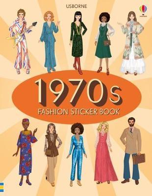 1970s Fashion Sticker Book by Emily Bone image