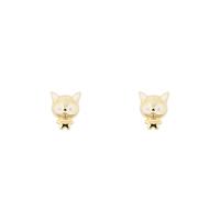 Short Story: Earring Monster Cat Gold