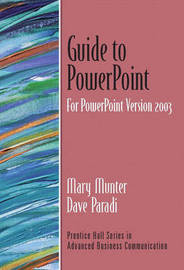 Guide to PowerPoint, Version 2003 by Dave Paradi image