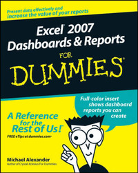 Excel 2007 Dashboards and Reports For Dummies by Michael Alexander image