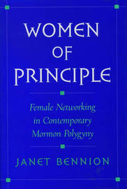 Women of Principle by Janet Bennion image