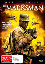 The Marksman on DVD