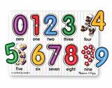 Melissa & Doug: See-Inside Numbers Peg Puzzle