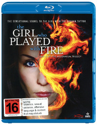 The Girl who Played with Fire on Blu-ray
