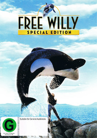 Free Willy - Special Edition on DVD
