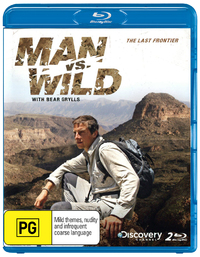 Man Vs Wild: The Last Frontier - The Complete Fourth Season on Blu-ray