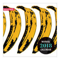 Andy Warhol 2018 Wall Calendar by Andy Galison