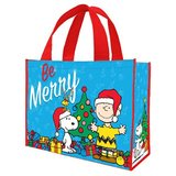 Peanuts Large Recycled Shopper Tote (Be Merry)