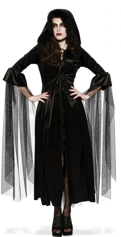 Mistress of the Night Costume (Size Standard)