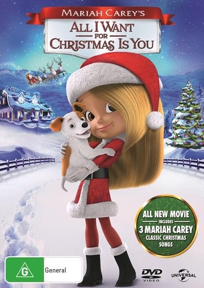 Mariah Carey's: All I Want For Christmas Is You on DVD image