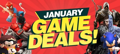 January Game Deals
