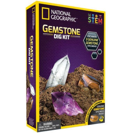 National Geographic: Gemstone Dig Kit