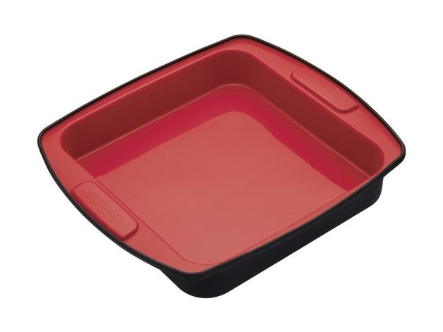 MasterClass: Smart Silicone Square Cake/Roasting Pan (23cm)
