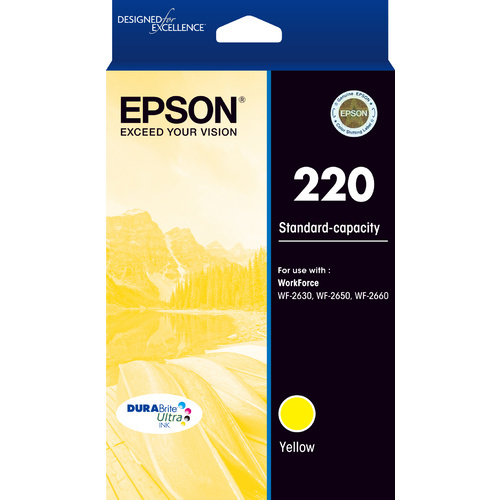 Epson Ink Cartridge - 220 (Yellow)