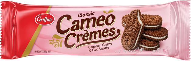 Griffins Cameo Cremes (250g x 24)