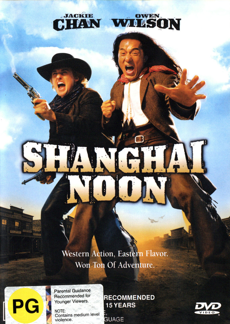 Shanghai Noon on DVD image