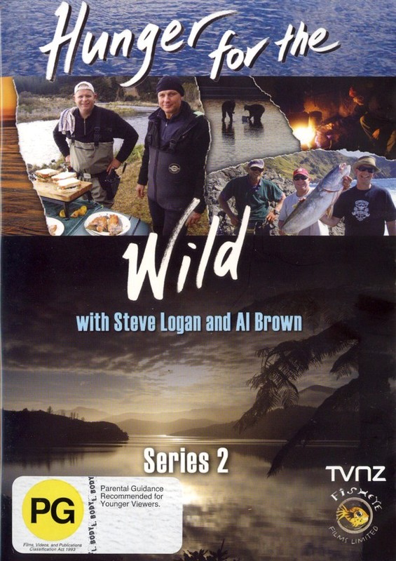 Hunger For The Wild - Series 2 on DVD