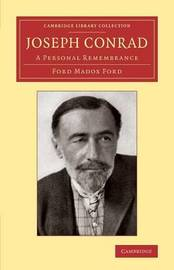Joseph Conrad by Ford Madox Ford