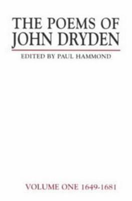 The Poems of John Dryden: Volume 1 by Paul Hammond image