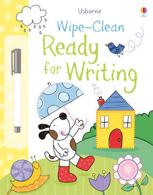 Wipe-Clean Ready for Writing by Felicity Brooks
