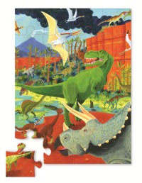 Crocodile Creek: Land of Dinosaurs Jigsaw Puzzle - 24pc