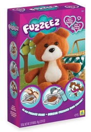 The Orb Factory: Fuzzeez Bear - Fabric Craft Set