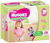 Huggies Nappy Pants Bulk - Walker Girl 14-18kgs (28)