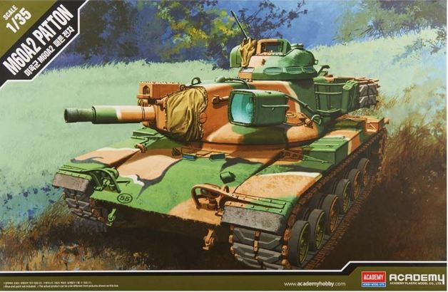 Academy 1/35 US Army M60A2 Kit