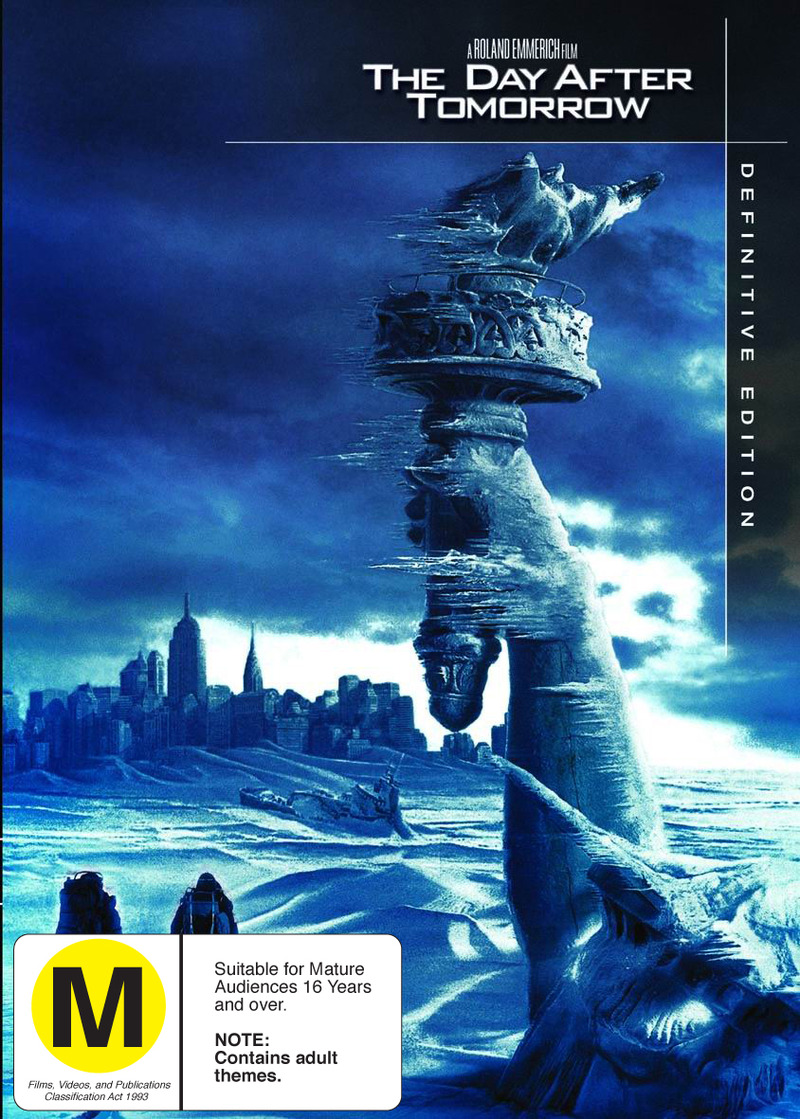 The Day After Tomorrow - Definitive Edition (2 Disc Set) on DVD image