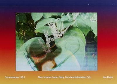 Alien Invader Super Baby (Synchromaterialism IV) by Jim Ricks