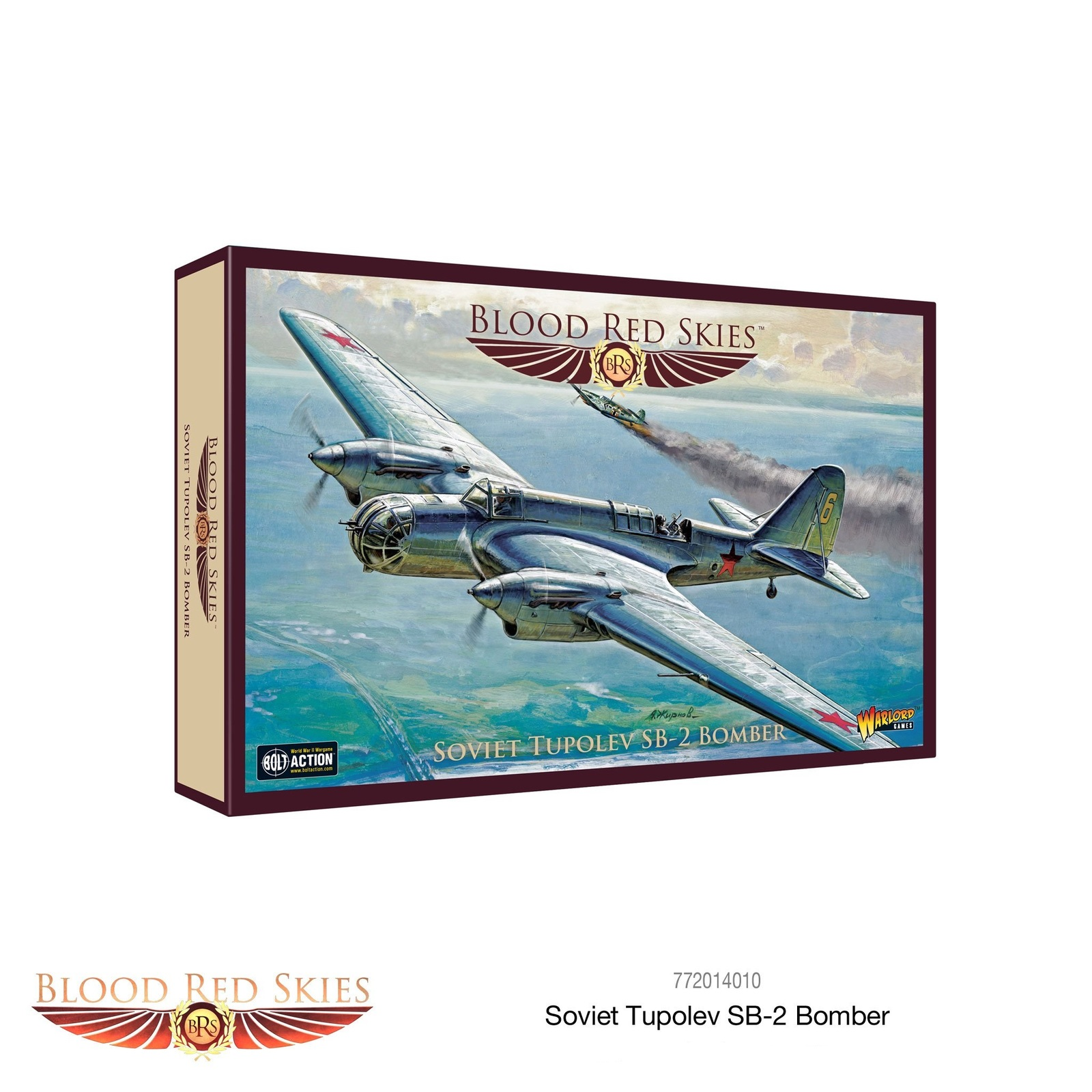 Blood Red Skies: Soviet Tupolev ANT-40 (SB-2) Soviet Bomber image