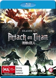 Attack On Titan - Complete Season 2 on Blu-ray