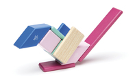 Tegu : Magnetic Wooden Blocks 14pc (Blossom)