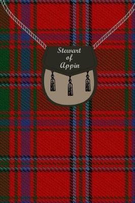 Stewart of Appin Tartan Journal/Notebook by Clan Stewart
