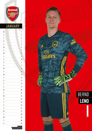 Official Arsenal 2020 A3 Wall Calendar image