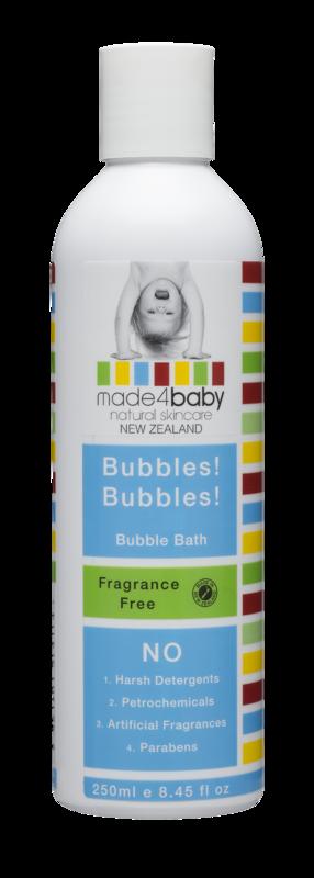 Made4Baby: Bubble Bath - Fragrance Free (250ml)