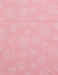 Cheeky Chimp: AOP Print Tee - Dusty Pink (Size 4)