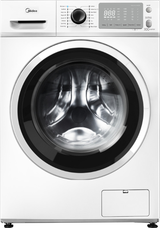 Midea 10KG Front Loader Washing Machine