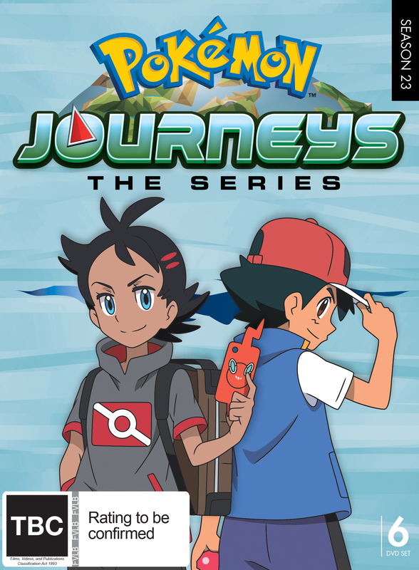 Pokemon Journeys: Complete Collection on DVD