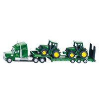 Siku: Freightliner Low Loader with 2 John Deere Tractors - 1:87